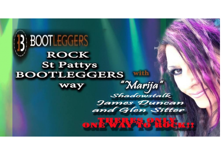 Bootleggers Rock show with Marija